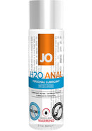 Jo H2o Warming Anal Water Based Lubricant 2 Ounce